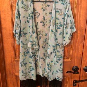 Monroe Kimono. Size Small.